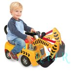 ディズニーミッキーマウス 【KIDDIELAND アクティビティクレーン ライドオン/乗用玩具】 Disney mickey Activity Crane Ride-On