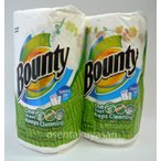バウンティー【柄あり】 「メガロール セレクトアサイズ 」 105シート×2本パック Bounty ペーパータオル