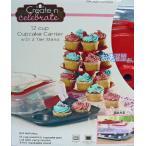Create&Celebrate カップケーキ型+専用ふた+3段プレートスタンドセット
