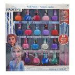 【18本】クリスマスラッピング無料♪アナと雪の女王「18本セット はがせるマニキュア 箱入り」キッズ用ネイル