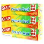 GLAD Press'n Seal  グラッド プレス&シール 幅30cmX長さ43.4m 3本セット 多用途シールラップ 3個セット マジックラップ