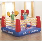 INTEX ジャンプオーレーン【ボクシングリング グローブ付き】室内用トランポリン/ジャンプオーリーン