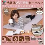 山善 YAMAZEN ふかふか 洗えるどこでも 電気カーペット(幅80×長さ180cm)