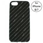 anello - anello総柄iphone7/8ケース ブラック  アネロ iPhoneケース iPhone8 iPhone7 TPU素材 カバー ケース