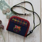 FC Barcelona FCバルセロナ  財布 ラウンドウォレット FCB-072