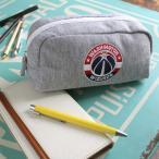 ショッピング筆箱 筆箱 ペンケース NBA バスケットボール 刺繍スウェットポーチ 公式 筆記用具
