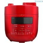 ショッピング圧力鍋 シロカ siroca 電気圧力鍋 レッド SP-D131(R)[送料無料]