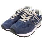 ショッピングニューバランス ニューバランス ML574 EGN Black iris ネイビー 25.0cm [NEW BALANCE][シューズ/靴/ランニングスタイル][送料無料]