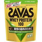 ザバス SAVAS ホエイプロテイン100 抹茶風味 50食分 (1,050g)[送料無料](TNH403)