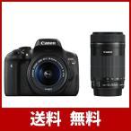 Canon デジタル一眼レフカメラ EOS Kiss X8i ダブルズ