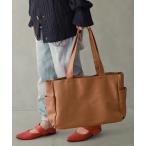 トートバッグ レディース バッグ ファッション雑貨 合成皮革 合皮 A4サイズ くったり感 ノアール  n'Orフェイクレザートートバッグ 【メール便不可】