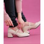 レディース 靴 シューズ パンプス 歩きやすい ノアール ローヒール Sサイズ Mサイズ Lサイズ LLサイズ 3Lサイズ n'Or3wayストラップパンプス 【メール便不可】