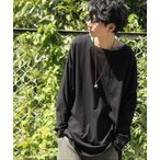メンズ トップス カットソー ロング Tシャツ ロンT 長袖 綿100% n'Or究極ラフロンT【ネコポス不可】