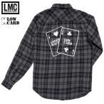 LOSER MACHINE X LOWCARD ルーザーマシーン ネルシャツ low card ローカード フランネルシャツ メンズ ブランド チェックシャツ 長袖 ストリート FLANNEL
