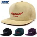 RADIALL ラディアル キャップ BEACH CRUISE CAP / radiall トラッカーキャップ コーデュロイ 刺繍 ブランド スナップバック アメリカ カジュアル 日本製