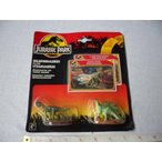 ジュラシックワールド おもちゃ フィギュア 恐竜 Jurassic Park Die Cast Mini Dilophosaurus and Steg