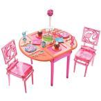 バービー人形 おもちゃ 着せ替え Barbie Dinner To Dessert Dining Room Set 輸入品