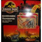 ジュラシックワールド おもちゃ フィギュア 恐竜 Jurassic Park Brachiosaurus and Velocirator Die-ca