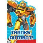 トランスフォーマー おもちゃ 変形 合体ロボ Transformers Thank You Cards - Birthday and Theme Pa