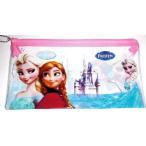 アナと雪の女王 おもちゃ フィギュア Disney Frozen Anna & Elsa Transparent Pencil/Pen Pouch o