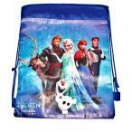 アナと雪の女王 おもちゃ フィギュア Disney FROZEN Drawstring Bag - BLUE 輸入品