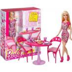 """バービー人形 おもちゃ 着せ替え Barbie ~12"""" Glam Dining Room Set: Barbie Home Furnishing Set 輸入品"""
