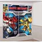 トランスフォーマー おもちゃ 変形 合体ロボ Transformers Scene Setter Wall Decorations Kit - Kid