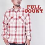 "SALE 30%OFF!フルカウント(FULL COUNT)チェックネルシャツ""BROWNE""4021-2"