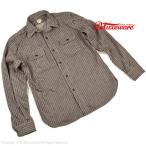 デラックスウエア(DELUXEWARE)ヒッコリーヘビーネルシャツ HV-01