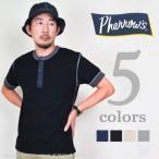 フェローズ(Pherrow's)ヘンリーネックTシャツ PHT