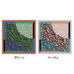 あそ美心 風呂敷 デシン ダルメシアン Sサイズ DS-304-S ベージュ