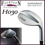 フォーティーン FOURTEEN H030 ウェッジ NS.PRO 950GH HT スチールシャフト