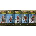 ワールドコレクタブルフィギュア 仮面ライダー 〜ライダーキック〜 5種セット V3 ライダーマン X アマゾン ストロンガー