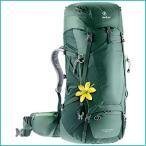 新品Deuter Futura Vario 45 + 10 SL Trekking Backpack, Sea Green/Forest