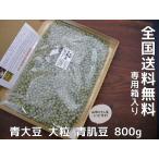 青肌豆 大粒(800g)青大豆 送料無料
