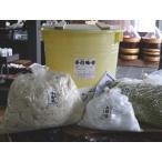 手作り味噌セット 秘伝豆(40Lポリ樽付 こだわり食塩)