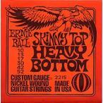 ERNIE BALL Nickel Wound Guitar Strings  2215 SKINNY TOP HEAVY BOTTOM