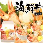 小樽きたいち 海鮮丼セット 海鮮 海鮮丼 海鮮セット 紅ズワイ蟹爪肉や帆立など北の海の幸が満載!