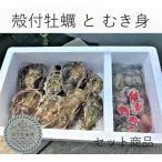 殻付能登牡蠣とむき身(殻付能登牡蠣20個とむき身500g)  (専用ナイフ付)