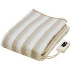 洗える電気掛け敷き毛布 かけしき兼用の電気毛布 シングルサイズ 国産電気敷毛布