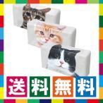 ティッシュケース 猫 ティッシュボックスカバー 卓上 ティッシュカバー キジトラ 茶トラ ハチワレ