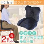 Yahoo!おうちでらくらく お手軽美人お得な2個セット 腰を包み込む座り心地 椅子に置いて使う プレミアム 骨盤クッション 座椅子風 ツボ押し付き 座椅子 人気ランキング 骨盤矯正 宅急便