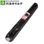穴あき黒マルチ(穴あきマルチ)  9515 厚0.02mm×巾95cm×長200m