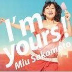 I'm yours!(初回) / 坂本美雨 邦楽CD