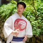 浴衣 メンズ 男 セット 男着物専門店品質 浜松浴衣 綿麻 大人 一式揃った 男ゆかた フルセット (4551)