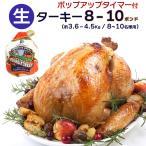 ターキー(七面鳥) 丸鳥 8〜10ポンド(約3.6〜4.5Kg)  生冷凍【即納可】