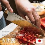 志津匠 33層 ダマスカス 包丁 家庭用 三徳包丁 キッチンナイフ 洋 和 関 日本製 180mm  肉 野菜 魚用