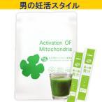 ミトコンドリア サプリ 大人の青汁  2.1g 20袋  葉酸 妊活サプリ 温活
