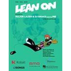 取寄対応 楽譜 Lean On メジャー レイザー ディー ジェイ スネーク Major Lazer DJ Snake ピース