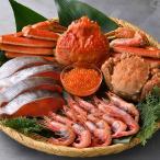 豪華海鮮三昧(5種)セット 送料無料 毛蟹 ズワイガニ 甘海老 イクラ 紅鮭